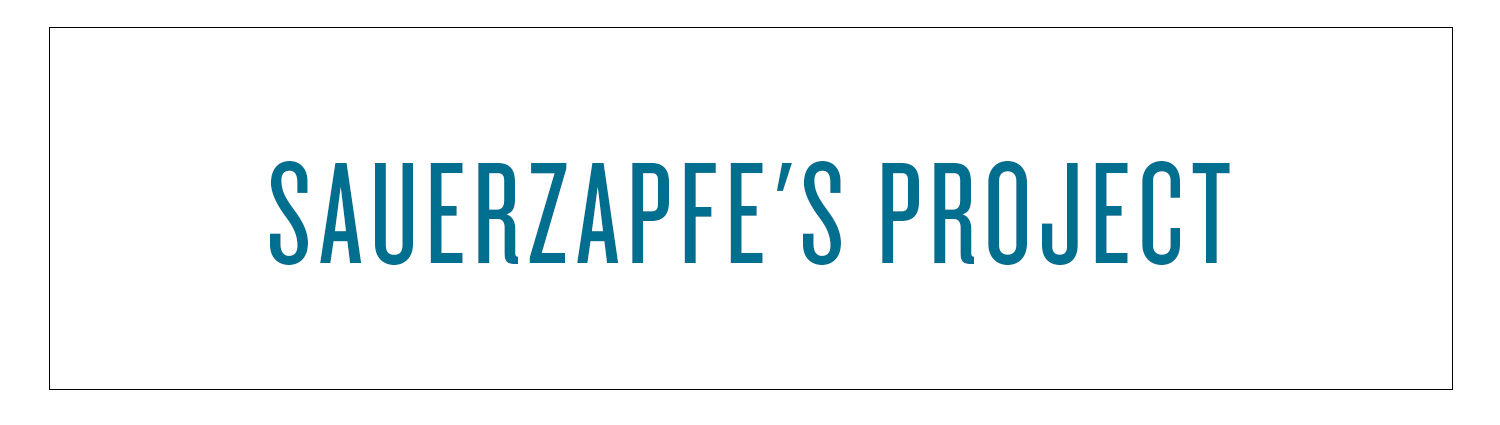 Sauerzapfe's Project