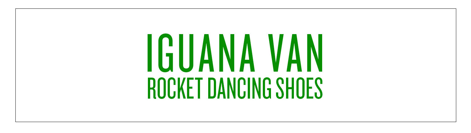 Iguana Van | Rocket Dancing Shoes