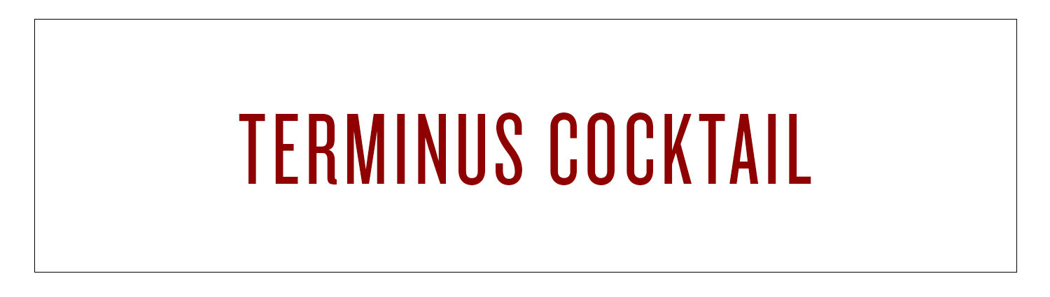 Terminus Cocktail | The surfer guy will soon be lucky at cards
